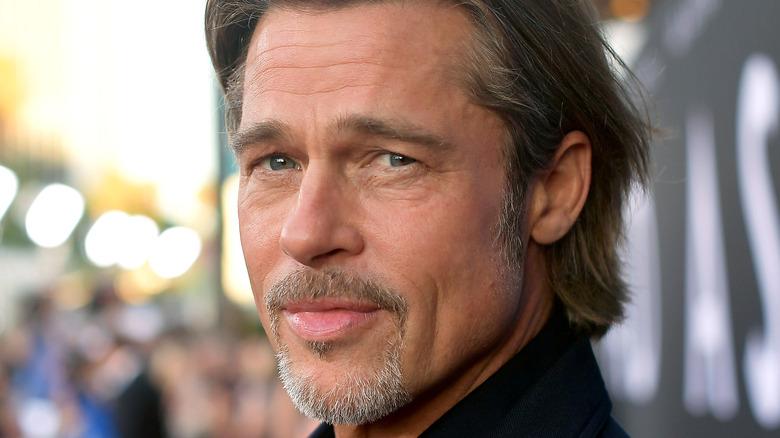 Brad Pitt smiler