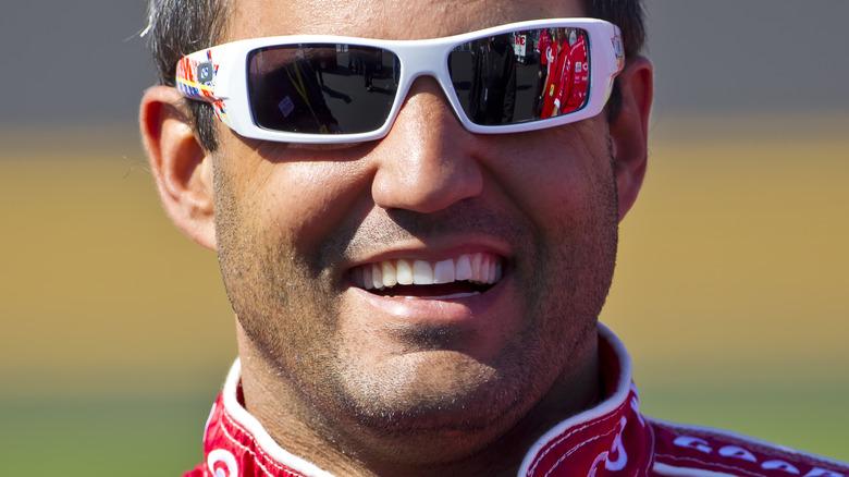 Juan Pablo Montoya på racingarrangement
