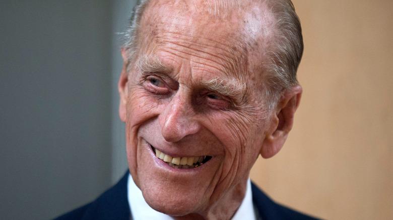 Prins Philip smiler i 2015