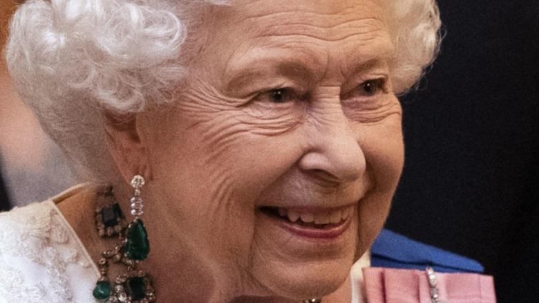 Dronning Elizabeth II besøker Lister Hospital 14. juni 2012