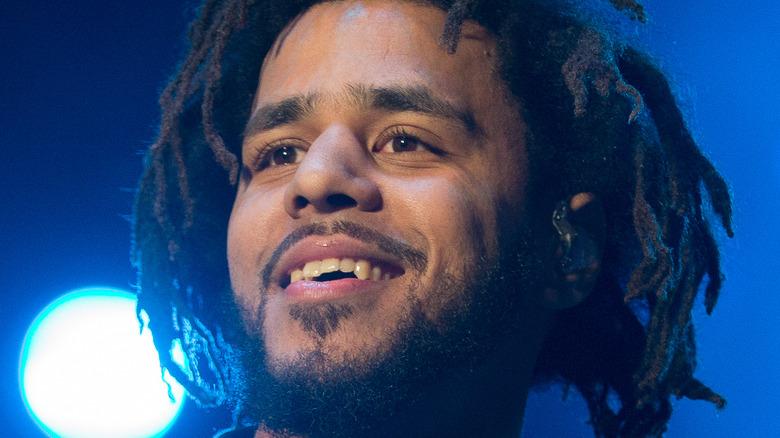 J. Cole smiler