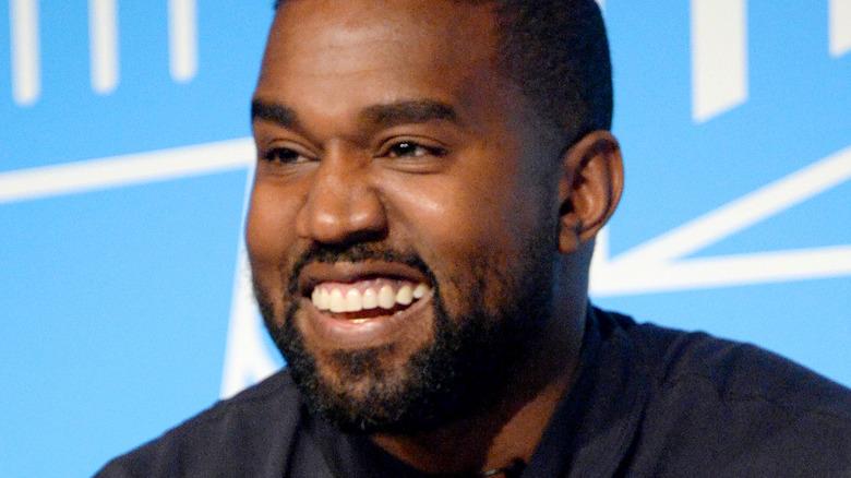 Kanye West på Vanity Fair Oscar After Party 2020
