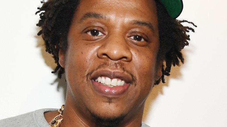 Jay-Z smiler
