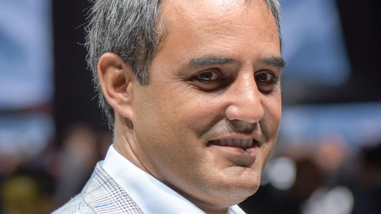 Juan Pablo Montoya smiler til et arrangement