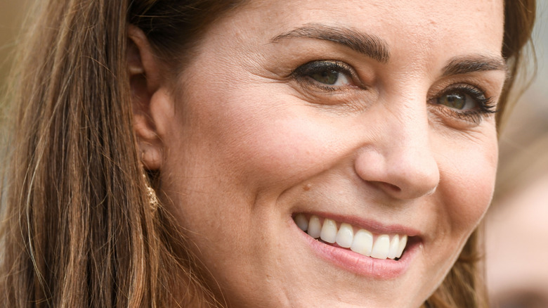 Smiler Kate Middleton