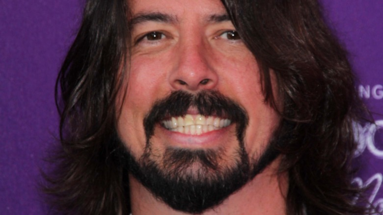 Dave Grohl smiler