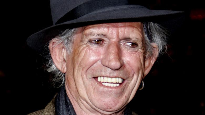 Keith Richards, rød løper
