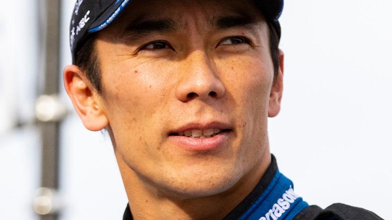 Takuma Sato på racingarrangement