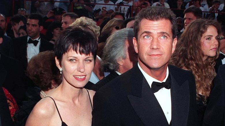 Robyn Moore og Mel Gibson oppriktige på den røde løperen