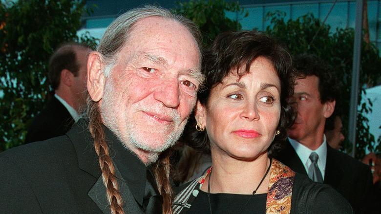 Willie Nelson med kone Annie D'Angelo