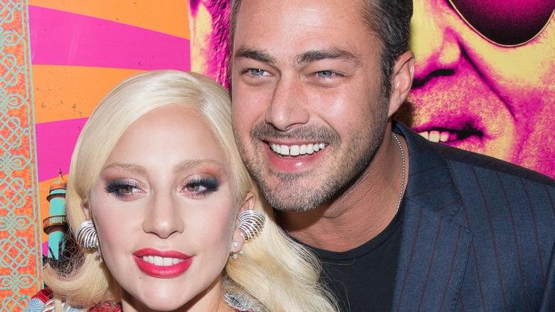 Lady Gaga og Taylor Kinney på filmpremiere