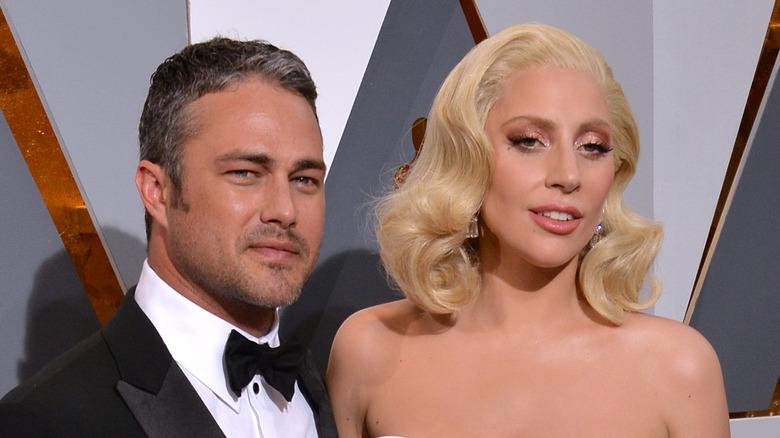 Taylor Kinney og Lady Gaga på Oscar-utdelingen