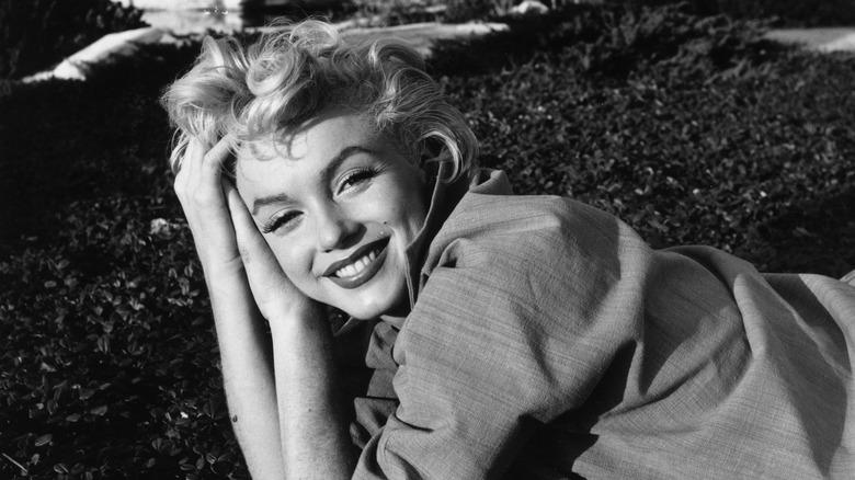 Marilyn Monroe svart og hvit legging