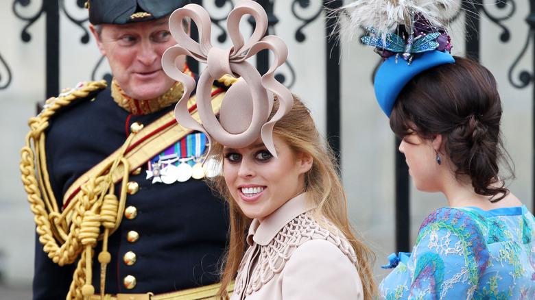 Prinsesse Beatrice luer William Kate bryllup