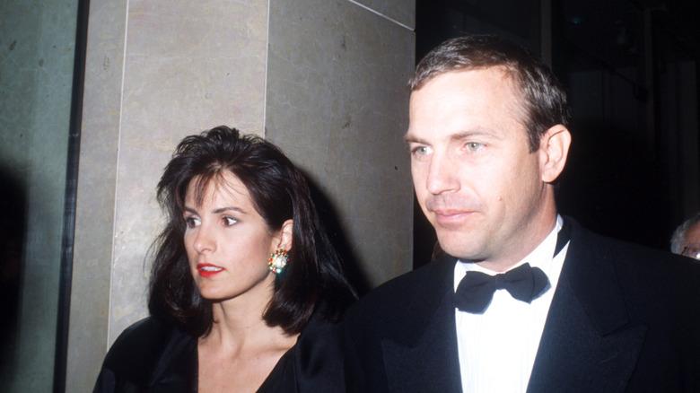 Kevin og Cindy Costner i 1992.