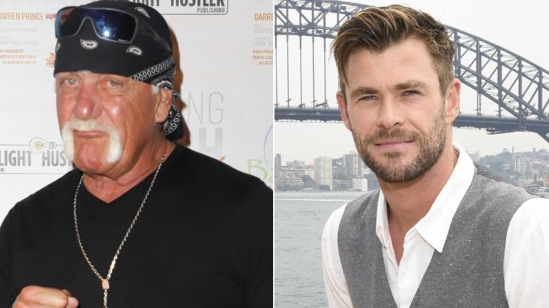 Hulk Hogan Chris Hemsworth