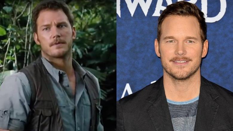 Chris Pratt i Jurassic World, og i 2020