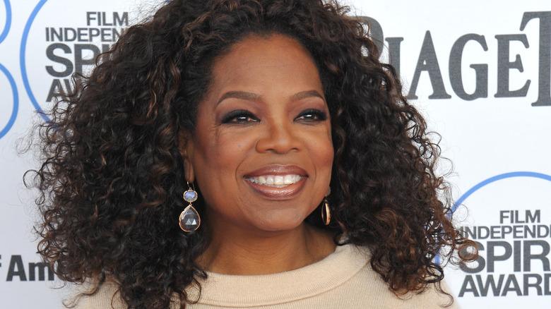 Oprah Winfrey krøllete hår