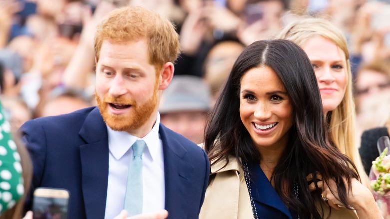 Prins Harry og Meghan Markle sammen