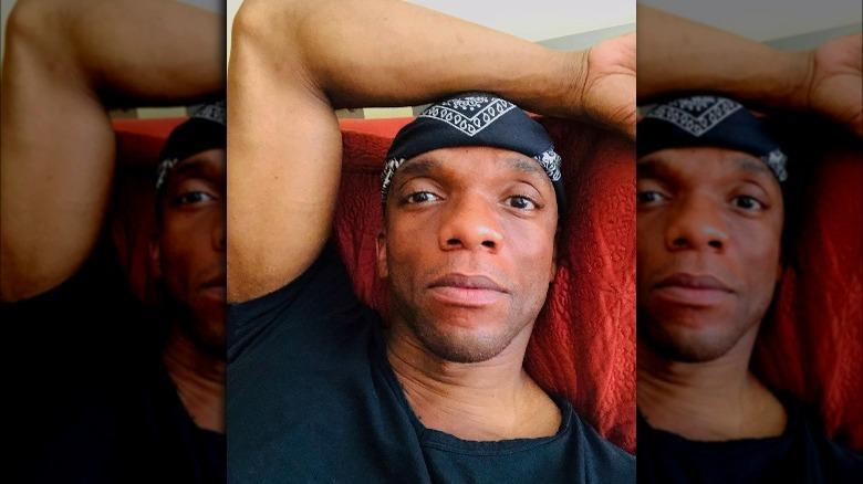 Kevin Boseman tar en selfie