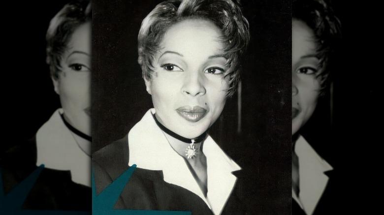 Mary J. Blige poserer for et bilde