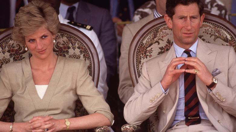 Prins Charles og prinsesse Diana i 1990
