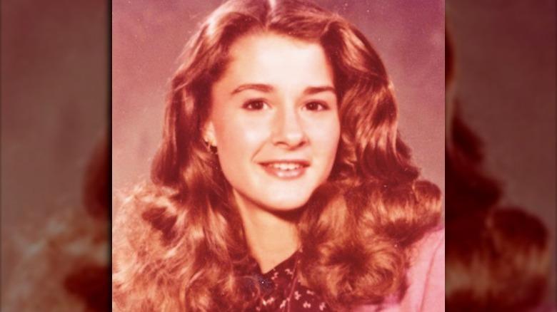 Melinda Gates barndomsbilde