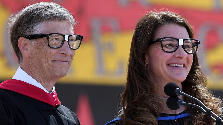 Bill og Melinda Gates ved en seremoni