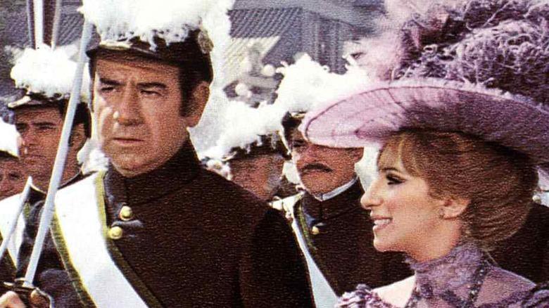 Walther Matthau og Barbra Streisand i Hello, Dolly