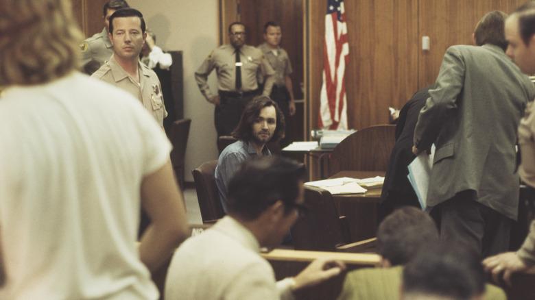 Charles Manson i retten