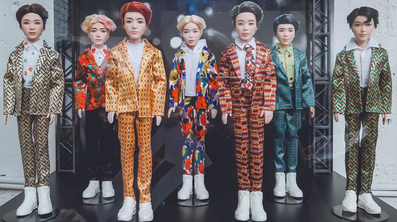 BTS Merchandise Dolls