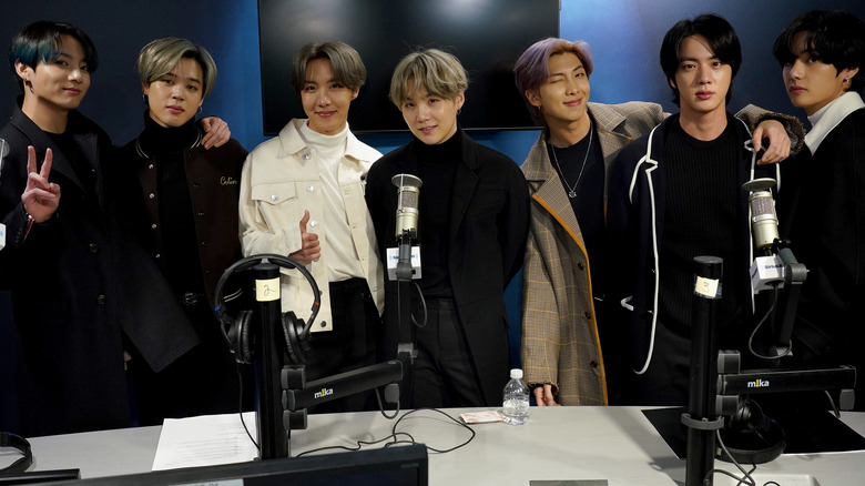 BTS på SiriusXM Studios