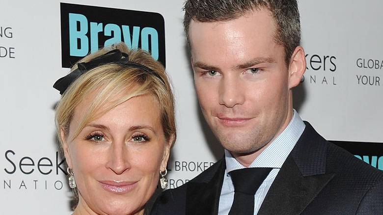 Sonja Morgan og Ryan Serhant