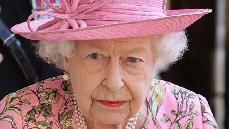 Dronning Elizabeth II utgjør