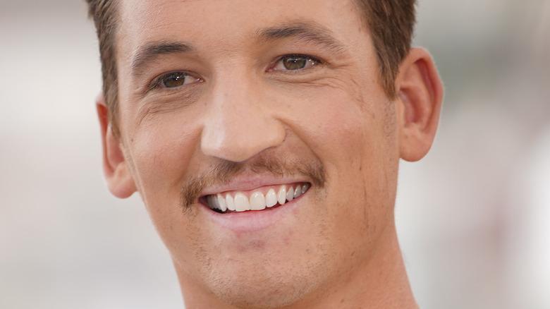 Miles Teller smiler