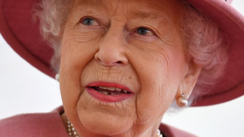 Dronning Elizabeth på kongelig begivenhet