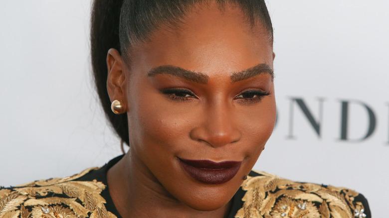 Serena Williams smiler