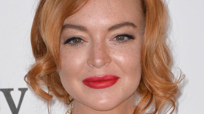 Lindsay Lohan på rød løper