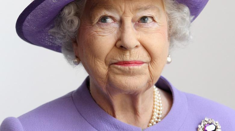 Dronning Elizabeth, poserer