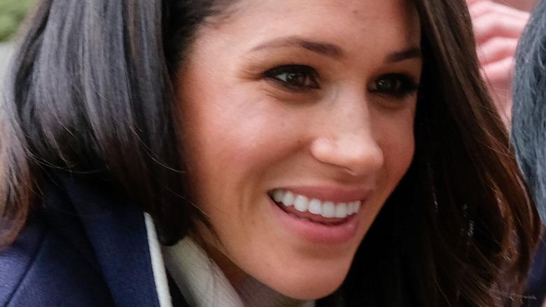 Meghan Markle smiler