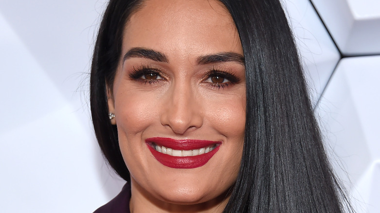 Nikki Bella smiler