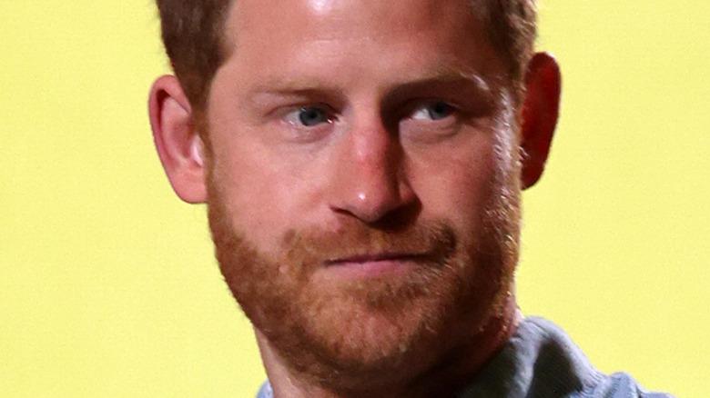 Prins Harry sideøye