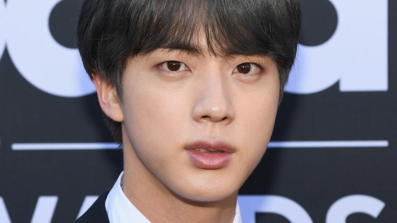 Jin of BTS blank stirrer