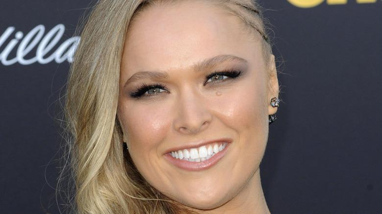 Ronda Rousey smiler