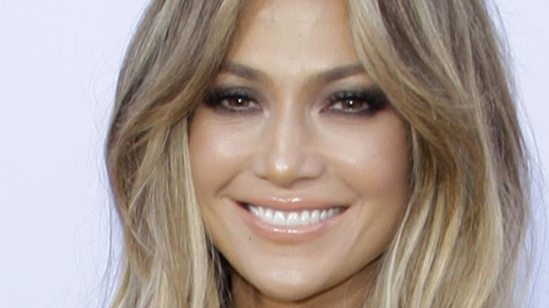 Jennifer Lopez langt hår
