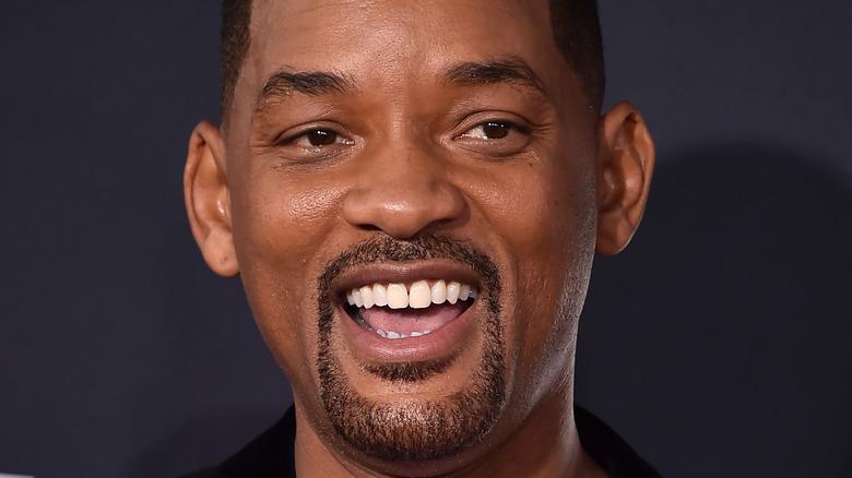 Will Smith smiler