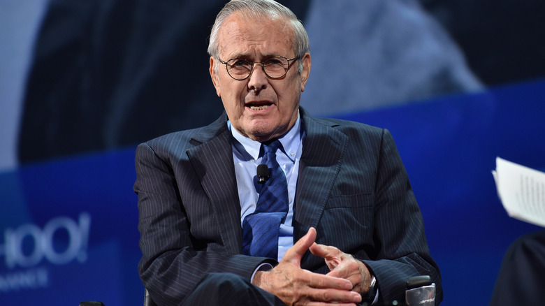 Donald Rumsfeld på Concordia Summit 2016