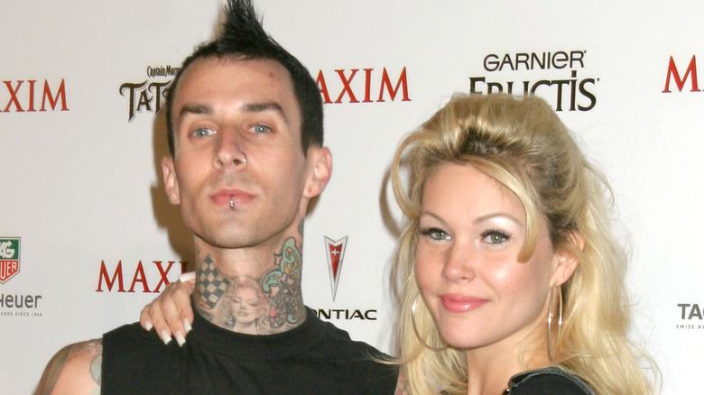 Travis Barker med Shanna Moakler