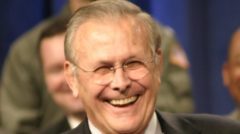 Donald Rumsfeld i krigsrommet