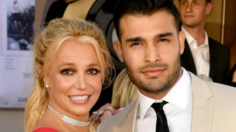 Britney Spears og Sam Asghari stiller sammen